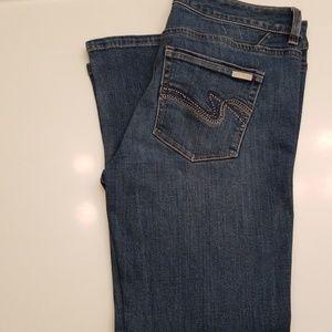 White House Black Market Jeans Blanc